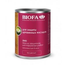 BIOFA Масло защитное для наружных работ с антисептиком 2043