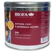 BIOFA Воск для натирки (ухода) для бань, саун 2060