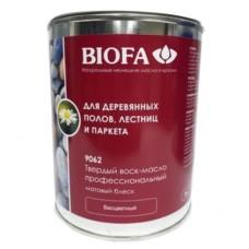 BIOFA Твердый воск-масло профессиональный, матовый 9062