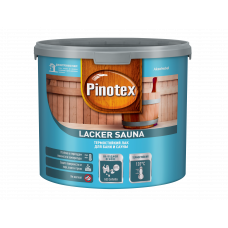 PINOTEX Lacker Sauna